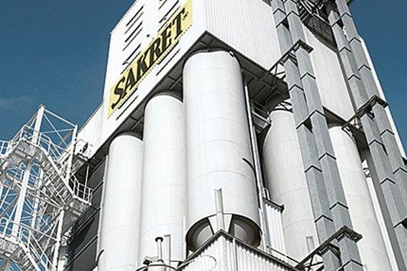 Besuchen Sie uns im SAKRET Sachsen Werk in Claussnitz | SAKRET Werk Sachsen