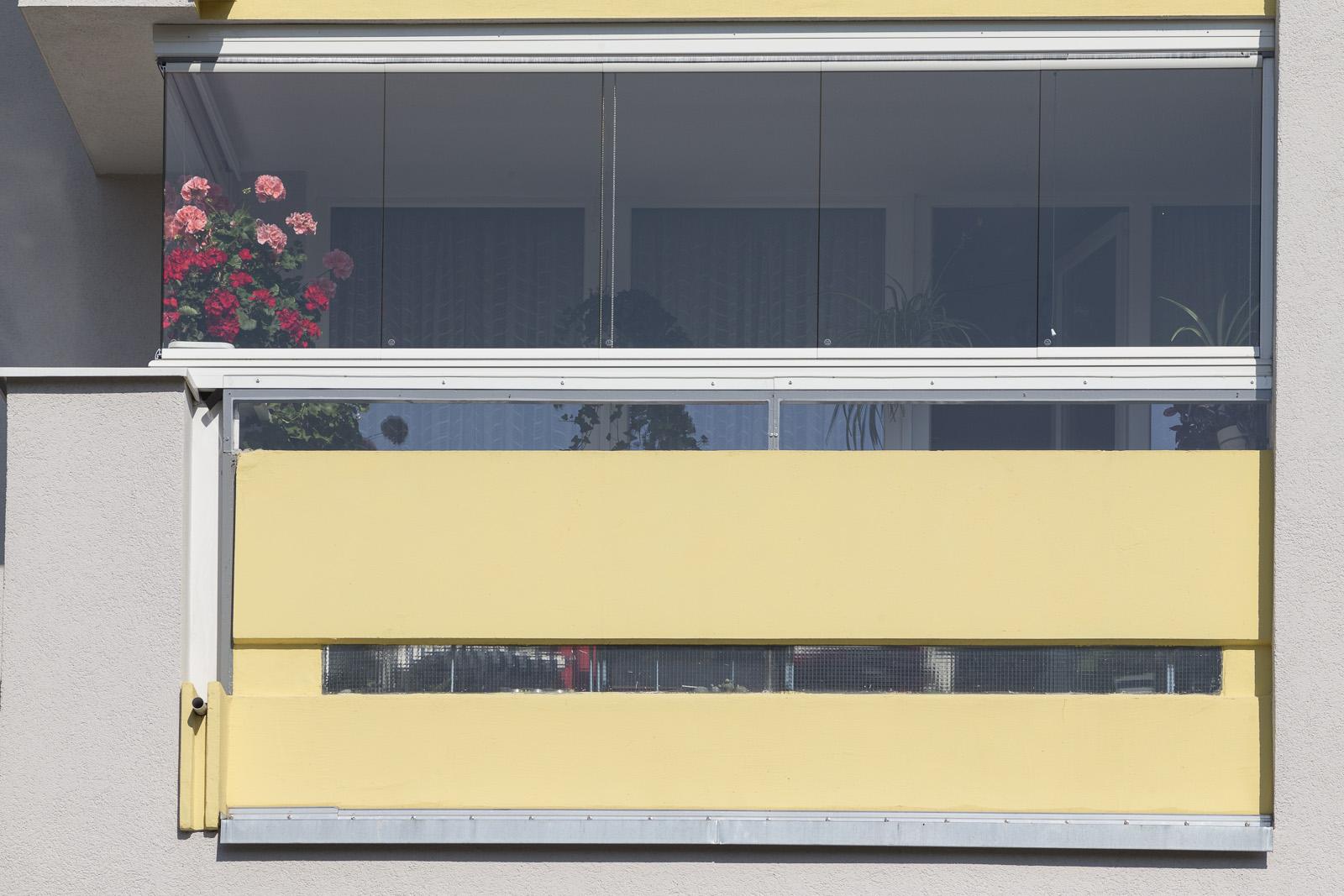 SAKRET Referenz Fassadensanierung WDVS Braunschweig Balkon nah