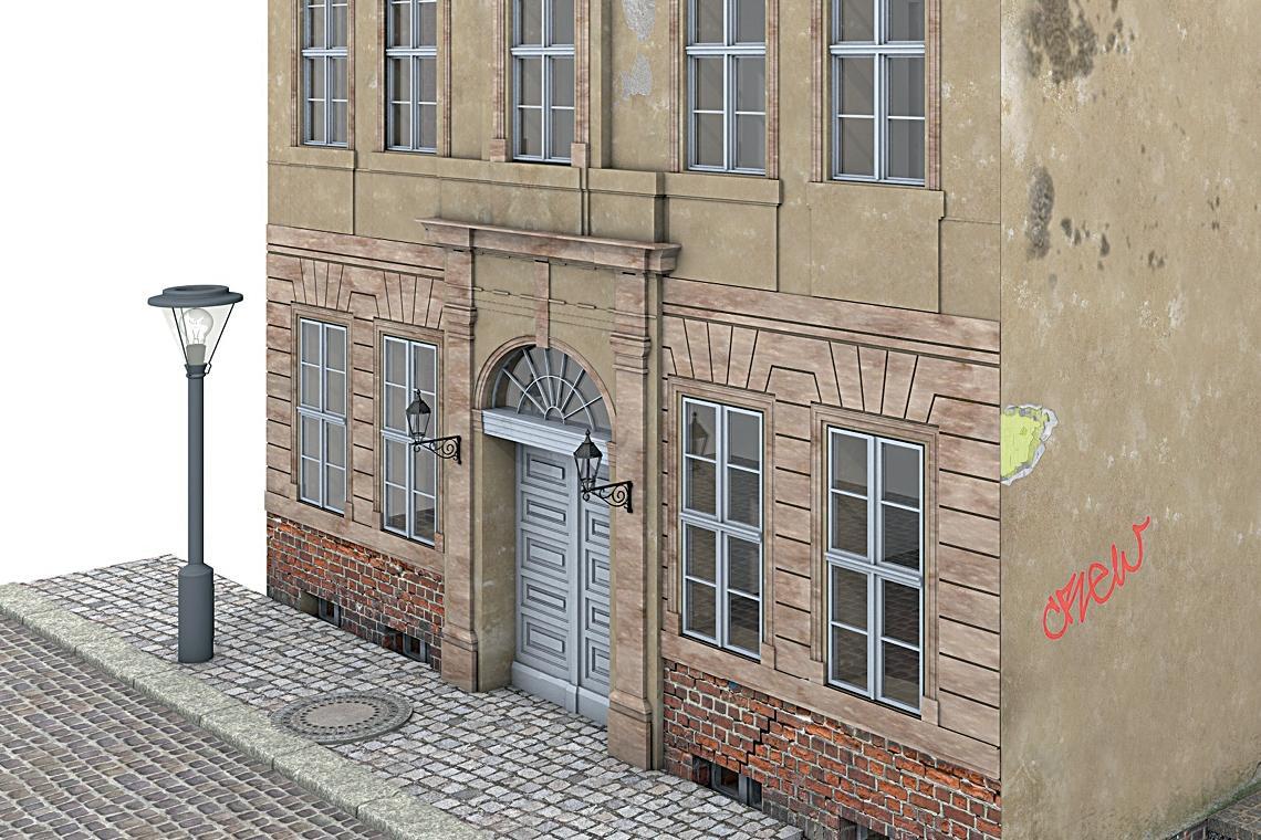 Fassadensanierung | Altbau von vorn