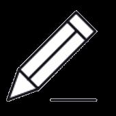Bleistift Piktogramm