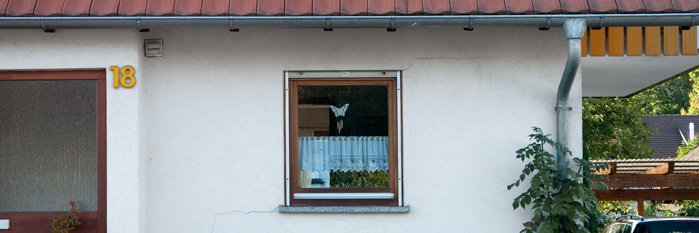 Risse in Fassade - Risssanierung