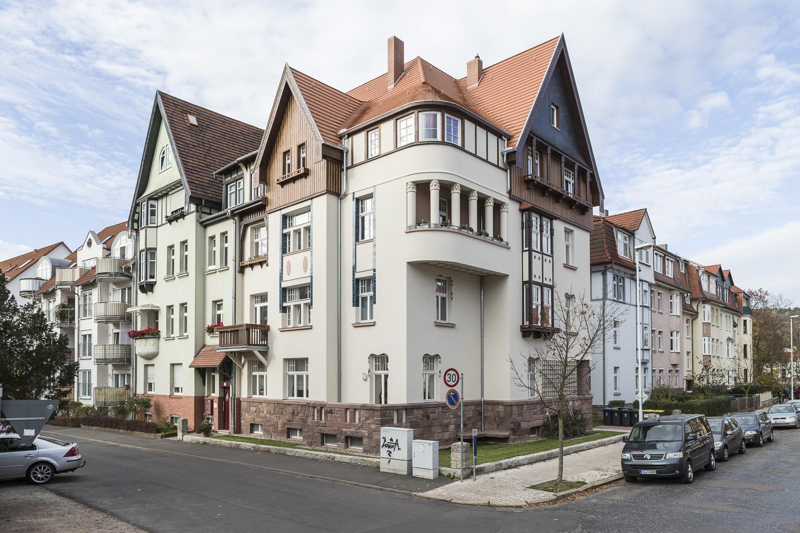 SAKRET Referenz Fassadensanierung Eisenach Totale