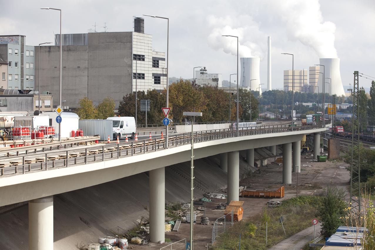 SAKRET Referenzen Hochbrücke Völkingen Totale