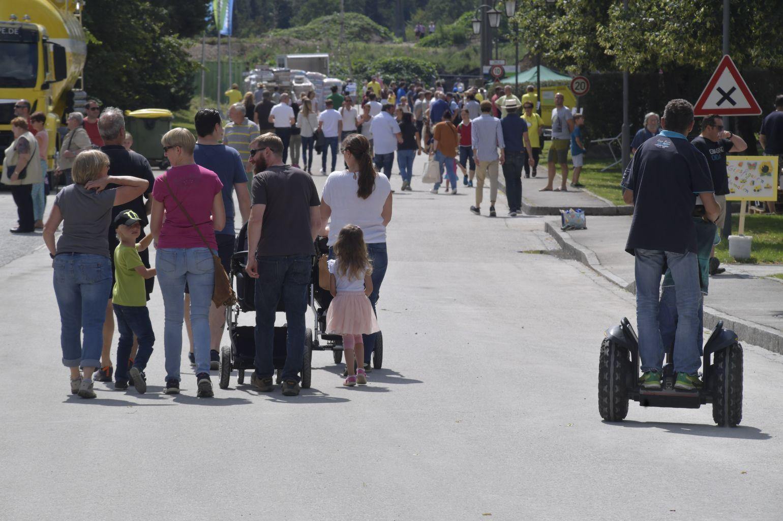 SAKRET München Firmenjubiläum 2018 - Segway fahren
