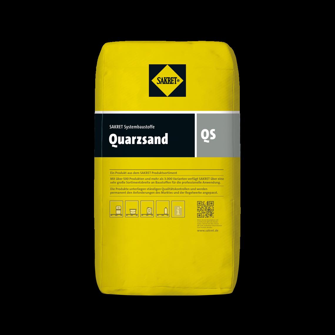 AbbildungSAKRET Quarzsand QS