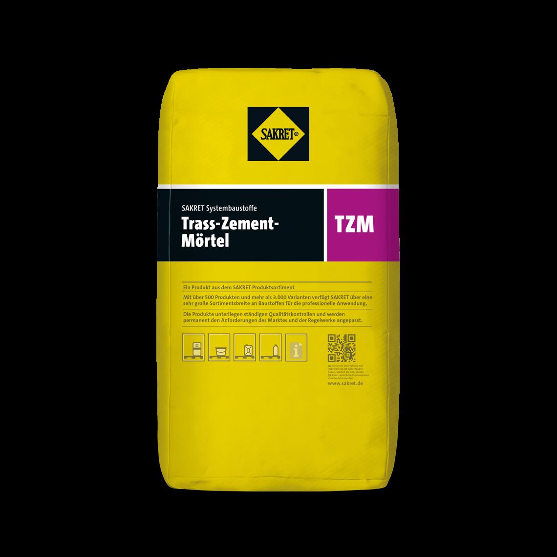 Abbildung SAKRET Trass-Zement-Mörtel TZM