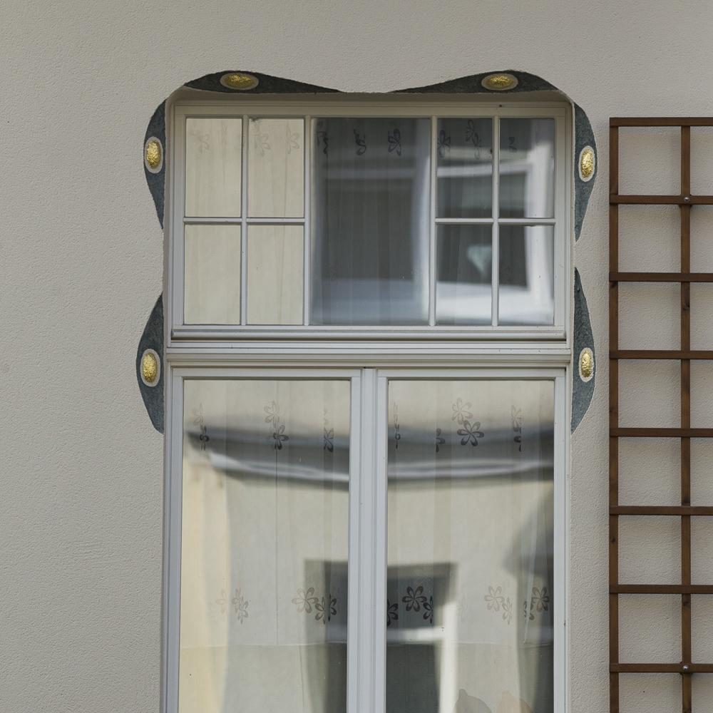 SAKRET Referenz Fassadensanierung Eisenach Fenster