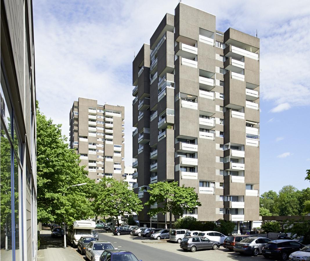 SAKRET Referenz Fassadensanierung WDVS Braunschweig vorher