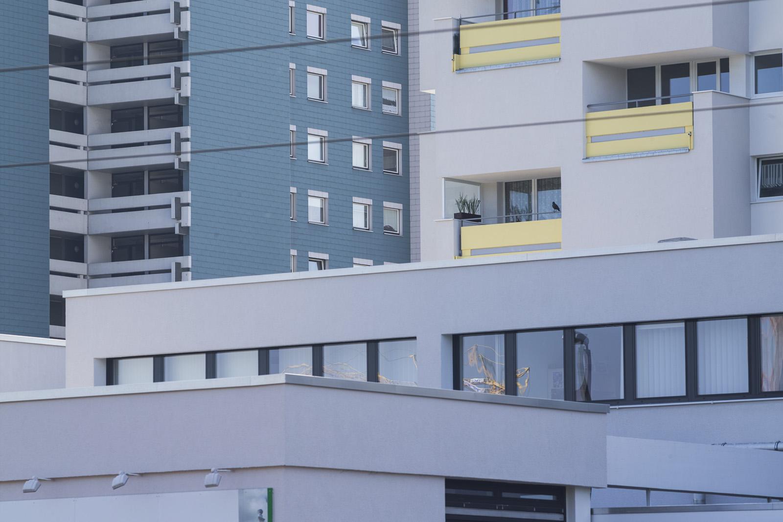 SAKRET Referenz Fassadensanierung WDVS Braunschweig weit weg