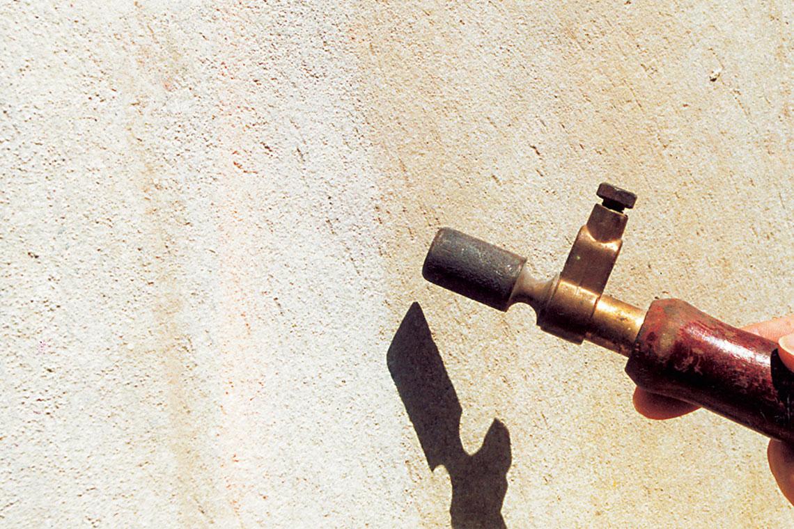 Bauzustandsanalyse   Untergrund mit technischen Geräten prüfen