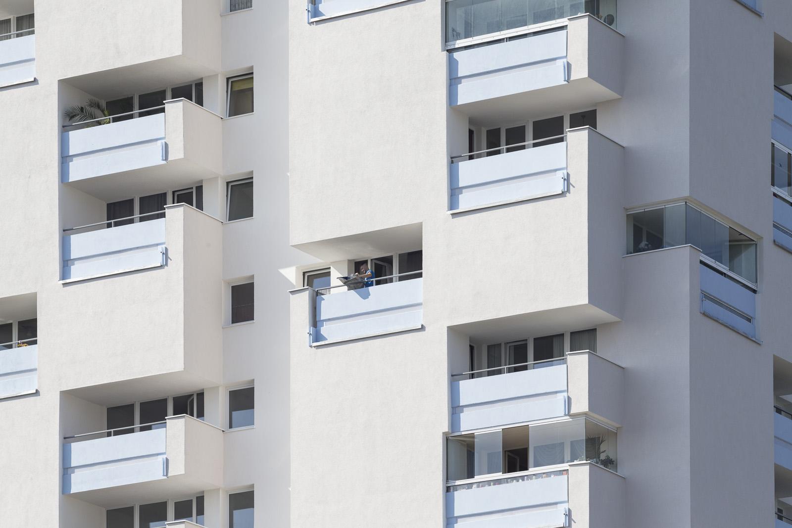 SAKRET Referenz Fassadensanierung WDVS Braunschweig von nah