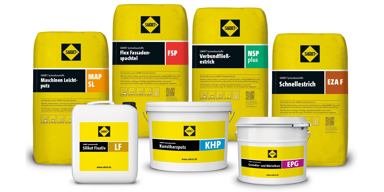 SAKRET Sachsen Produkte
