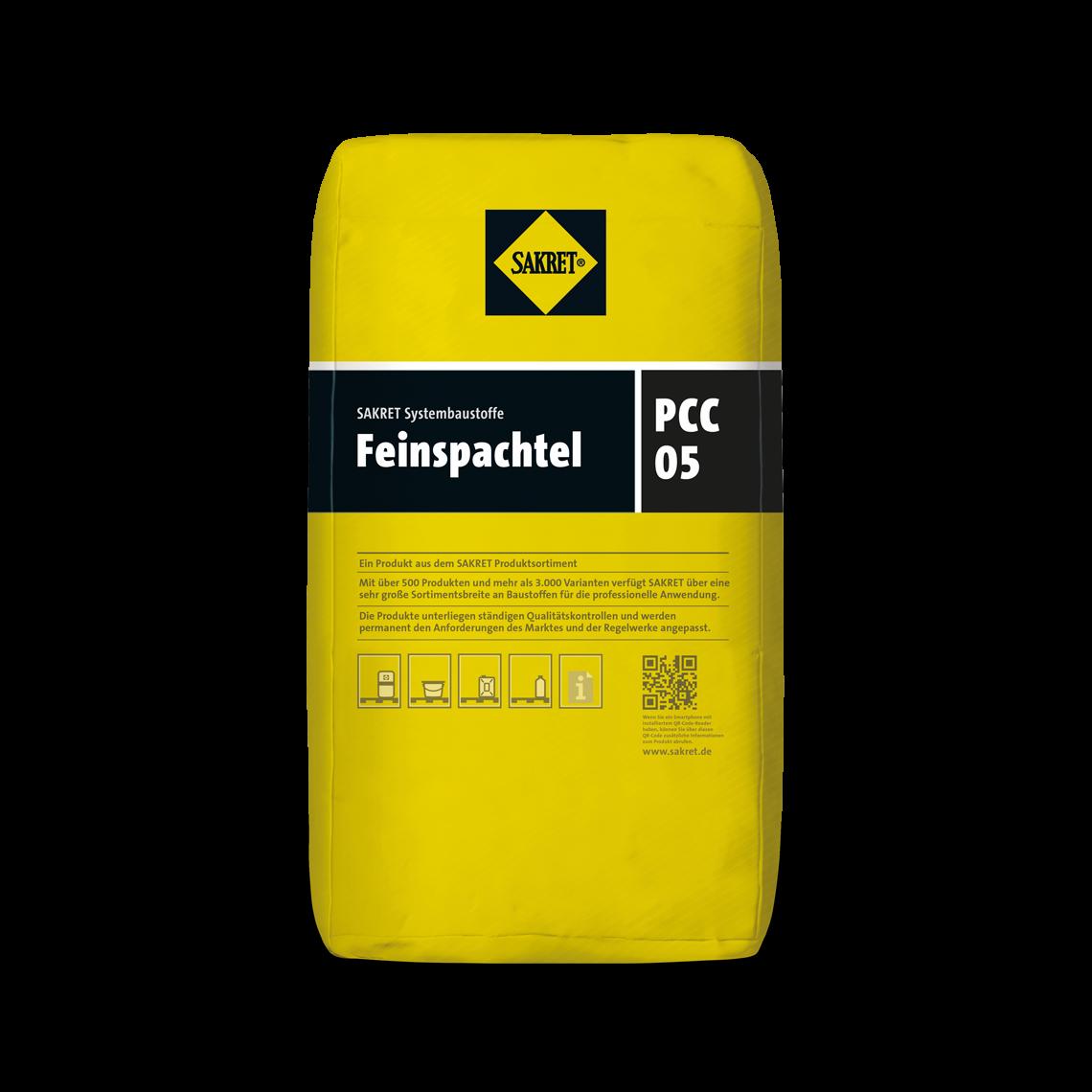 Abbildung SAKRET Feinspachtel PCC 05