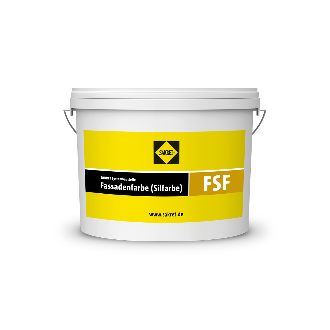 Abbildung SAKRET Fassadenfarbe Silfarbe FSF