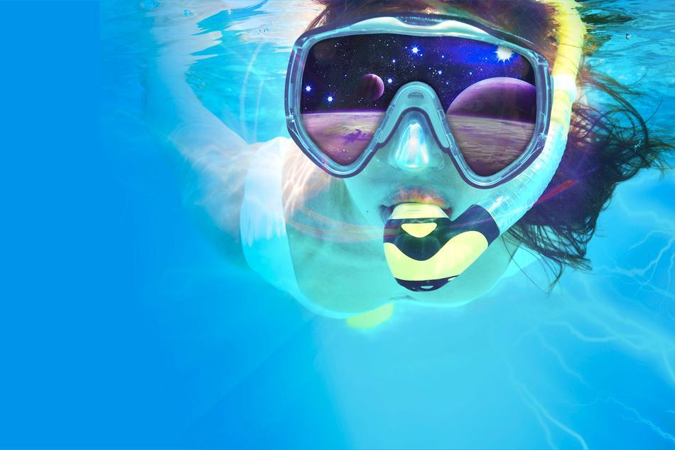 VR-Schnorcheln in der Erlebniswelt des Nettebades
