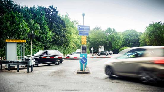 Rark & Ride am Parkplatz Kinderhospital Iburger Straße / am Schölerberg