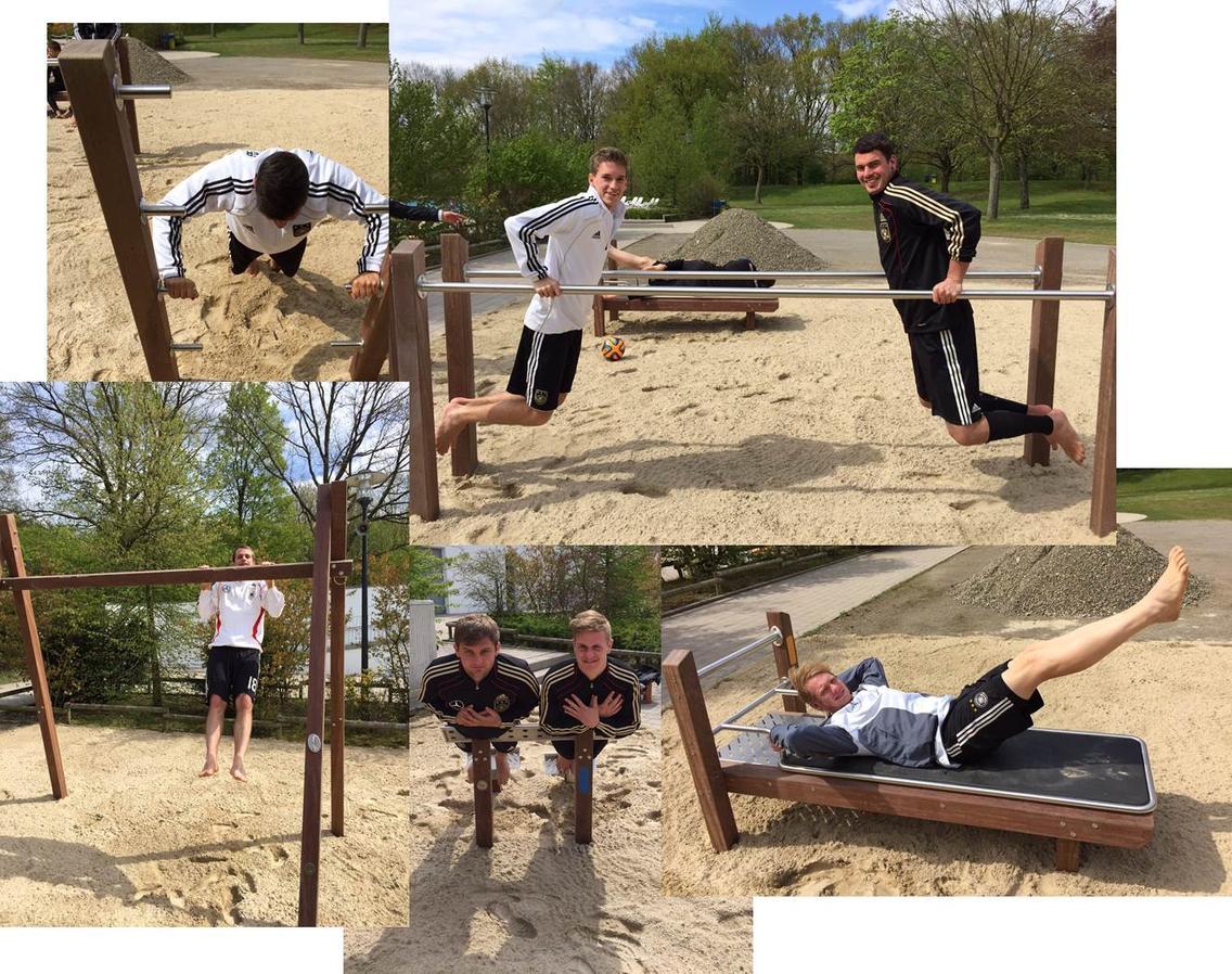 Functional Training im Außenbereich des Nettebades