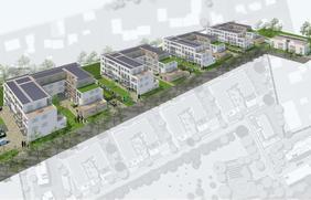 In der großen Eversheide entsteht das aktuell größte Bauprojekt der WIO.
