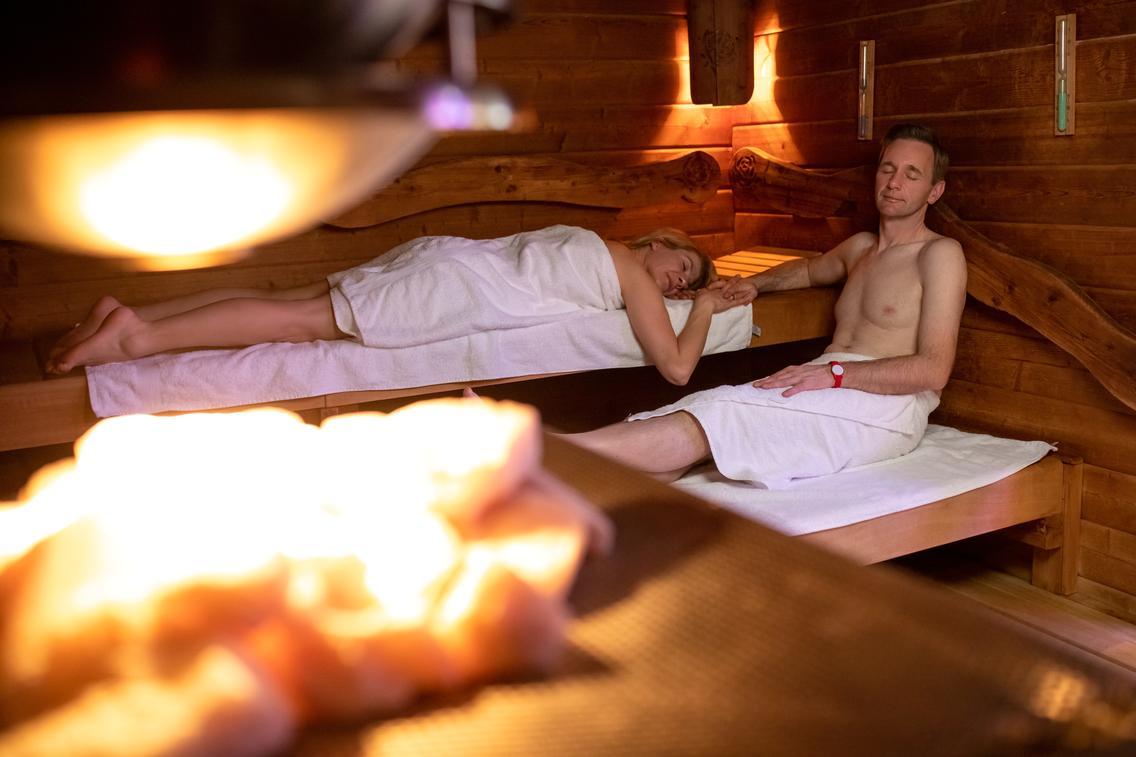 Saunakabine Ruusu® in der Loma-Sauna