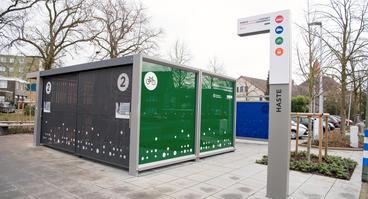 Mobilitätsstation der Mobilen Zukunft im Stadtteil Haste Osnabrück