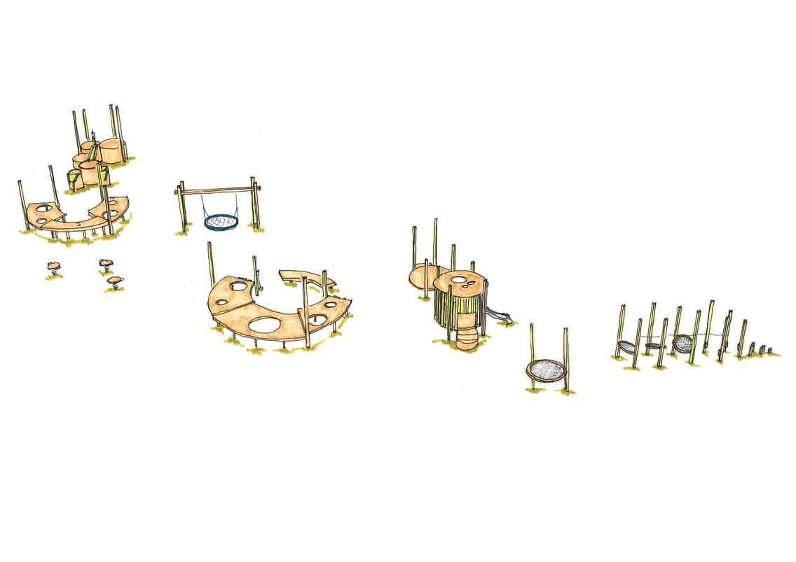 Entwurfsskizze Roundabout Bereich 0 bis 6
