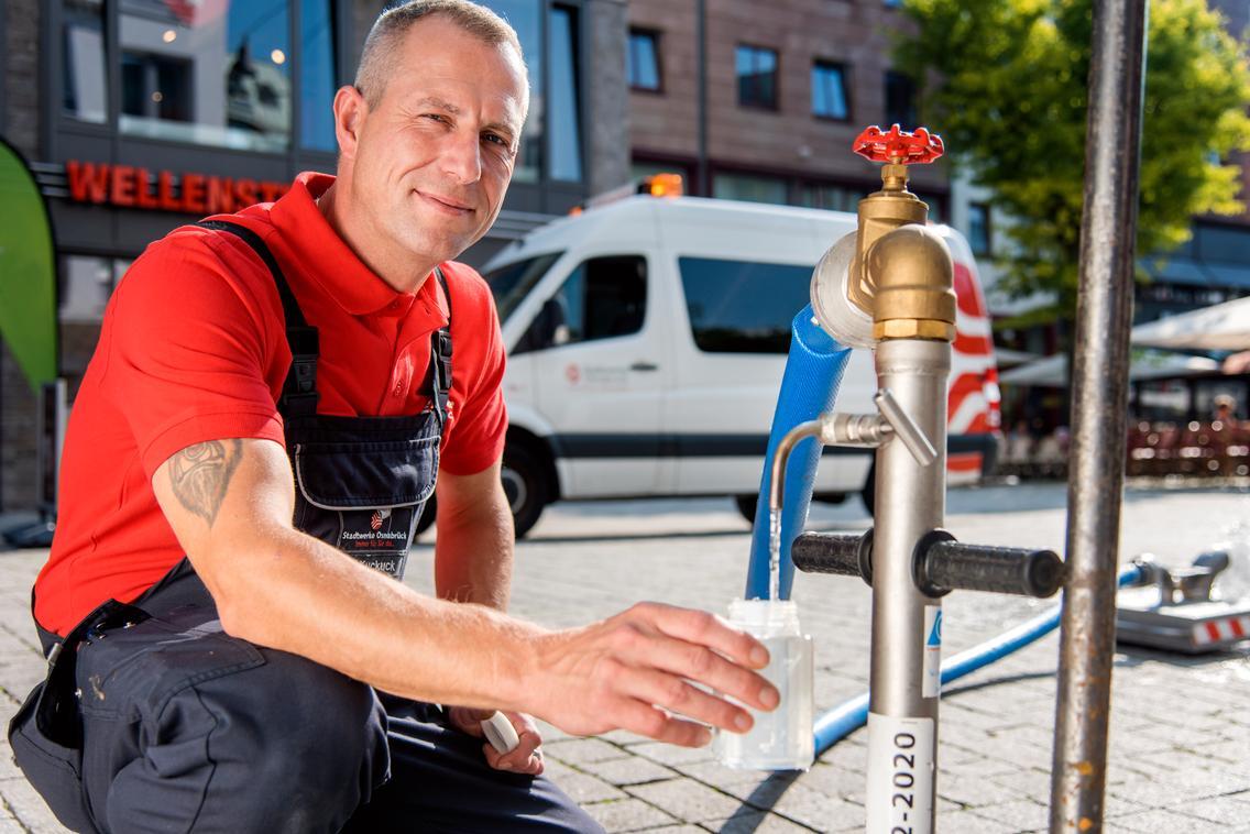 Trinkwasserversorgung in Osnabrück