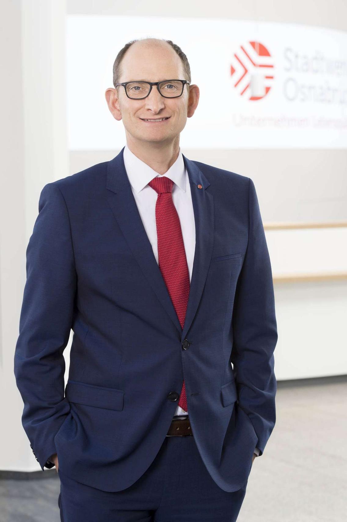 Stadtwerke Vorstandsvorsitzender Christoph Hüls