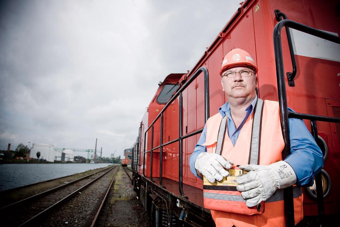 Güterumschlag Hafenbahn