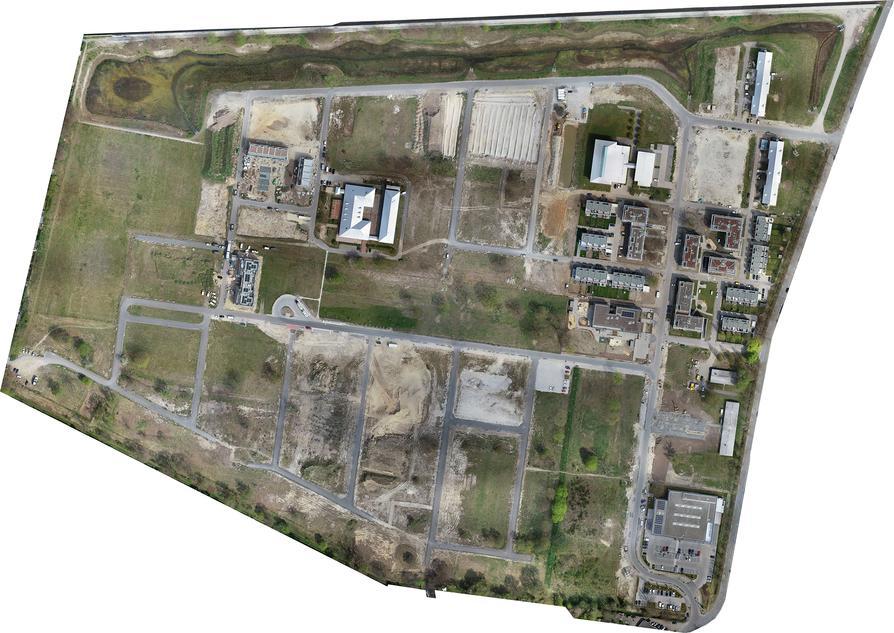 Luftaufnahme Landwehrviertel 05/2021