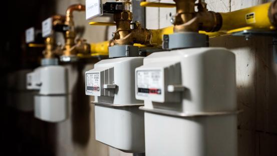 Gaszähler der SWO Netz GmbH