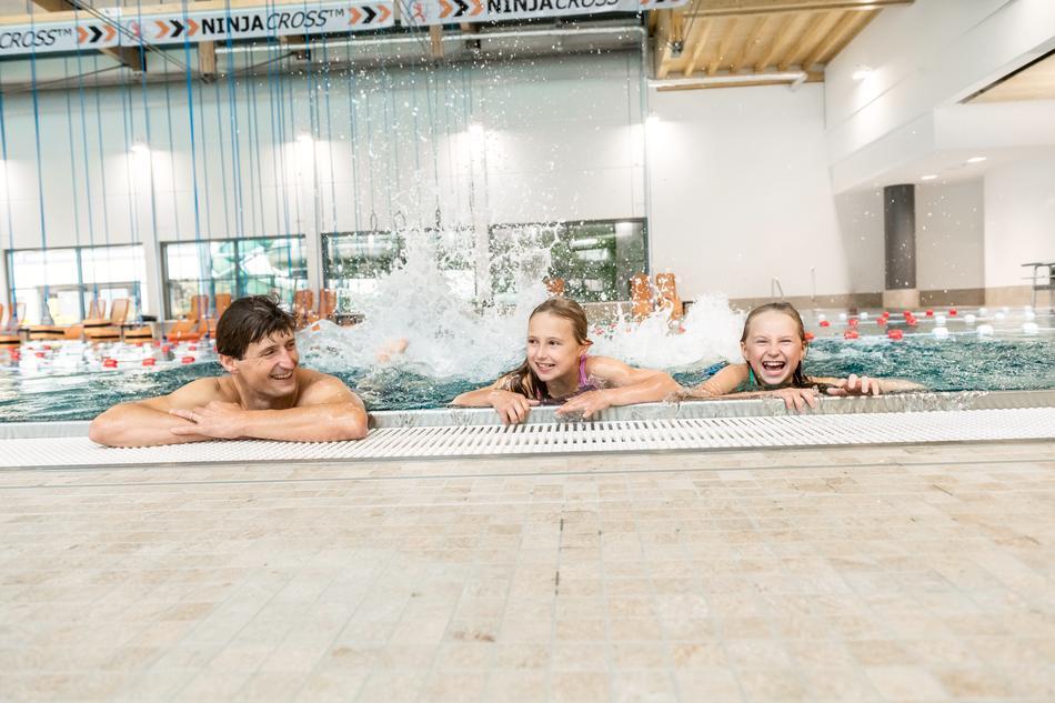 Familienspaß in der Erlebniswelt des Nettebades