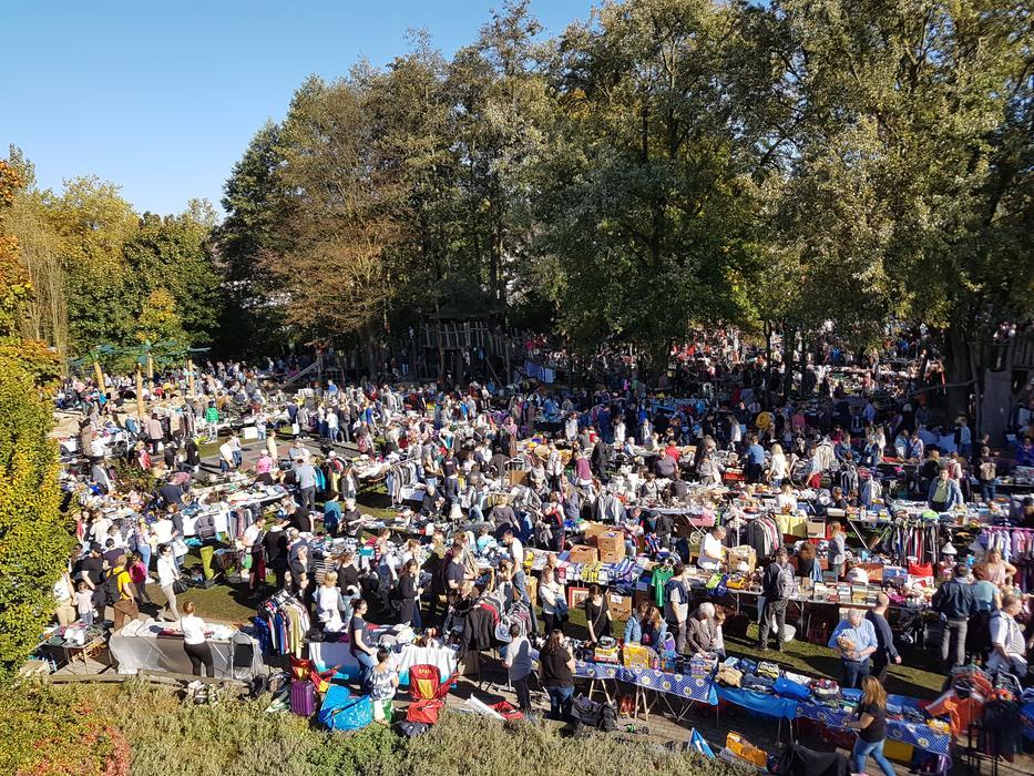 Der diesjährige Herbstflohmarkt findet am Sonntag, 10. Oktober, unter Coronabedingungen und unter Einhaltung der 2G-Regel statt.