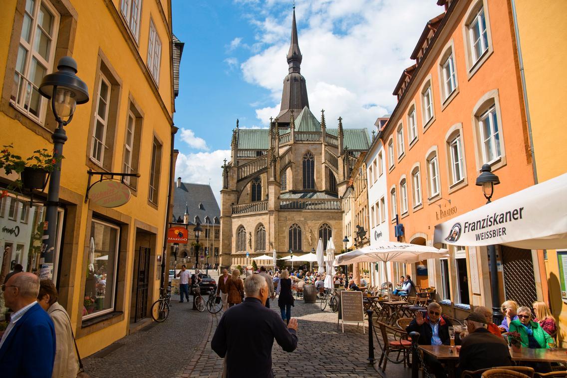 Blick auf den Osnabrücker Marktplatz