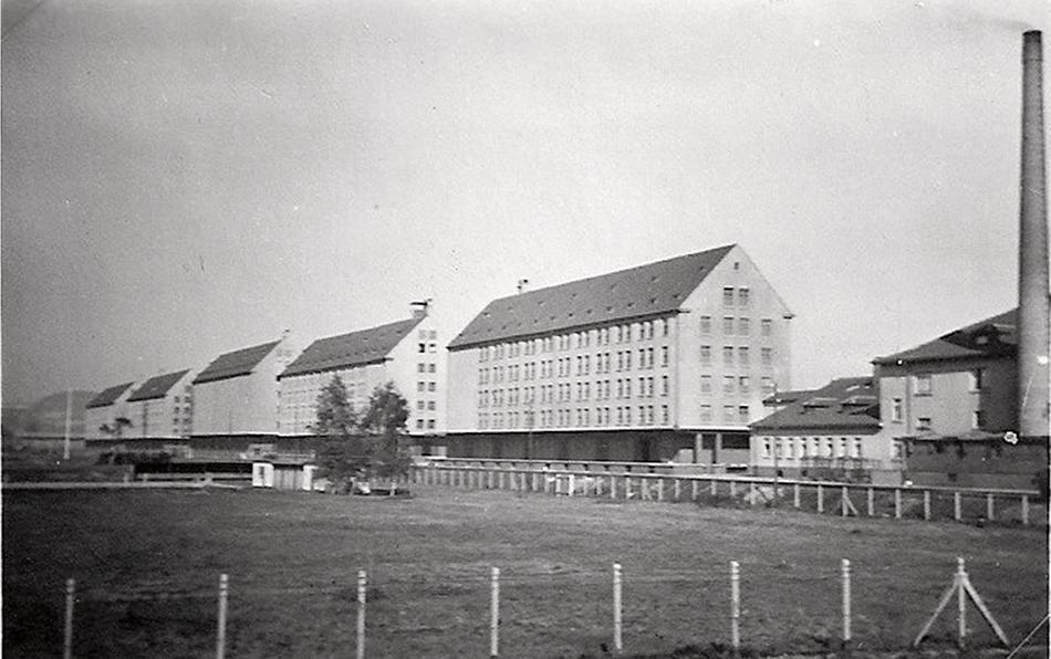 Historischer Blick auf die Winkelhausen Kaserne