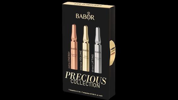 Luxuriöse Gesichtsbehandlung mit Ampullen der BABOR Precious Collection