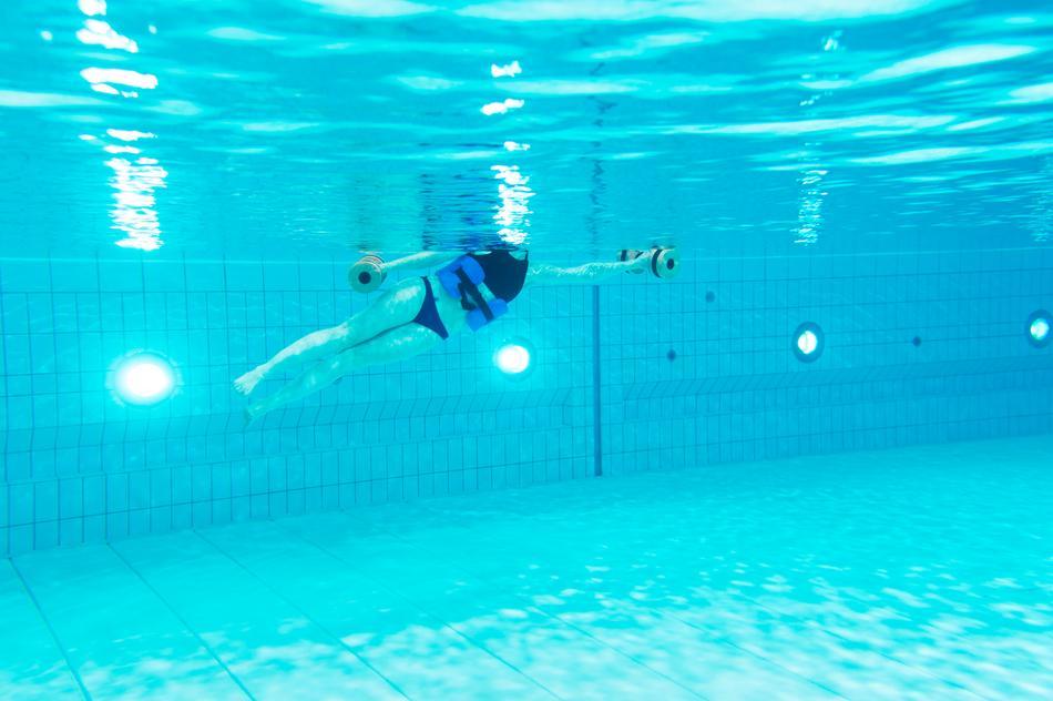 Effektives Aqua-Fitness-Training