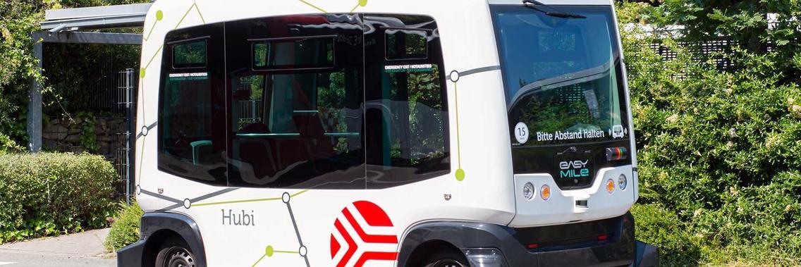 Es ist Hubi – das erste autonome Shuttle für Osnabrück