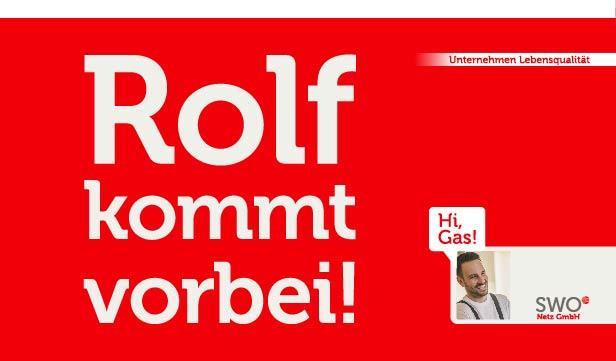 """Rolf kommt vorbei"""" lautet die Infokampagne zur Erdgasumstellung - die auch Trickbetrüger anlockt."""