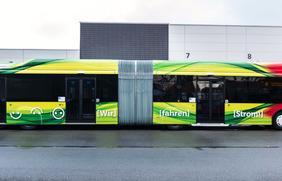 Die Stadtwerke laden zum E-Bus-Schnuppertag am 23. Februar von 10 bis 14 Uhr ein.