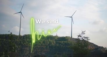 Wir sind hier - grünes Licht Windpark Piesberg