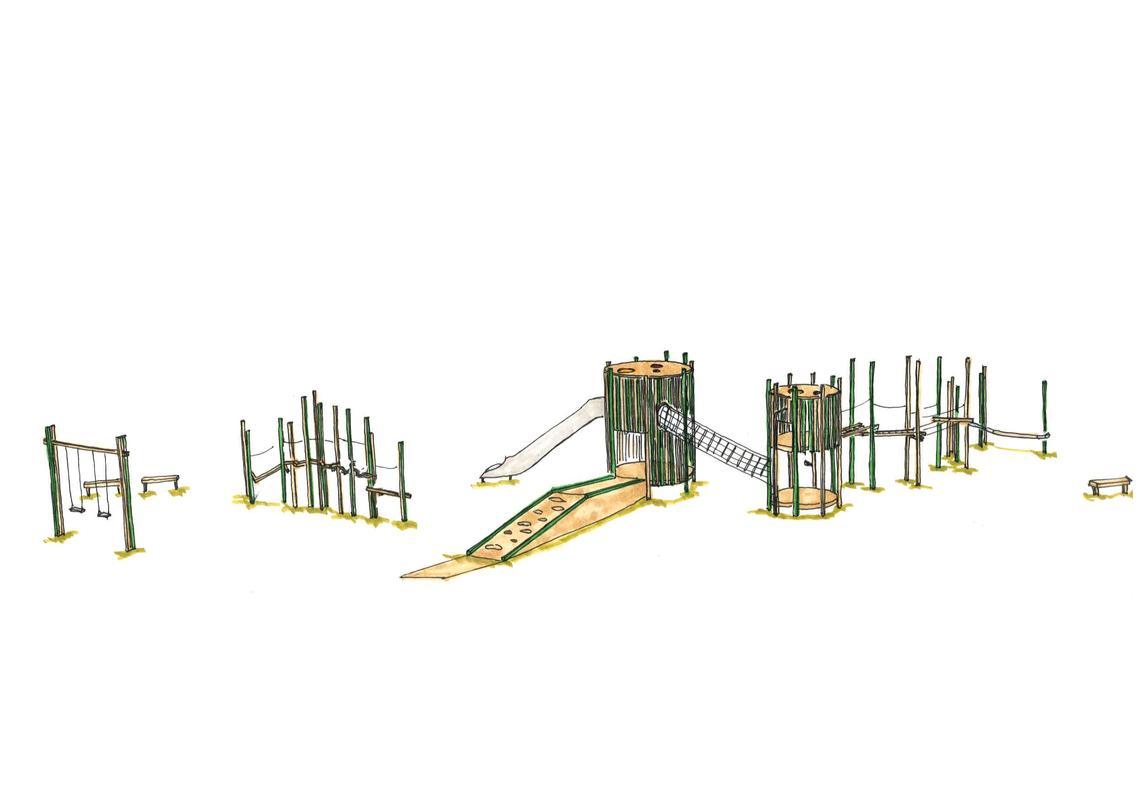 Entwurfsskizze Roundabout Bereich 6 bis 12
