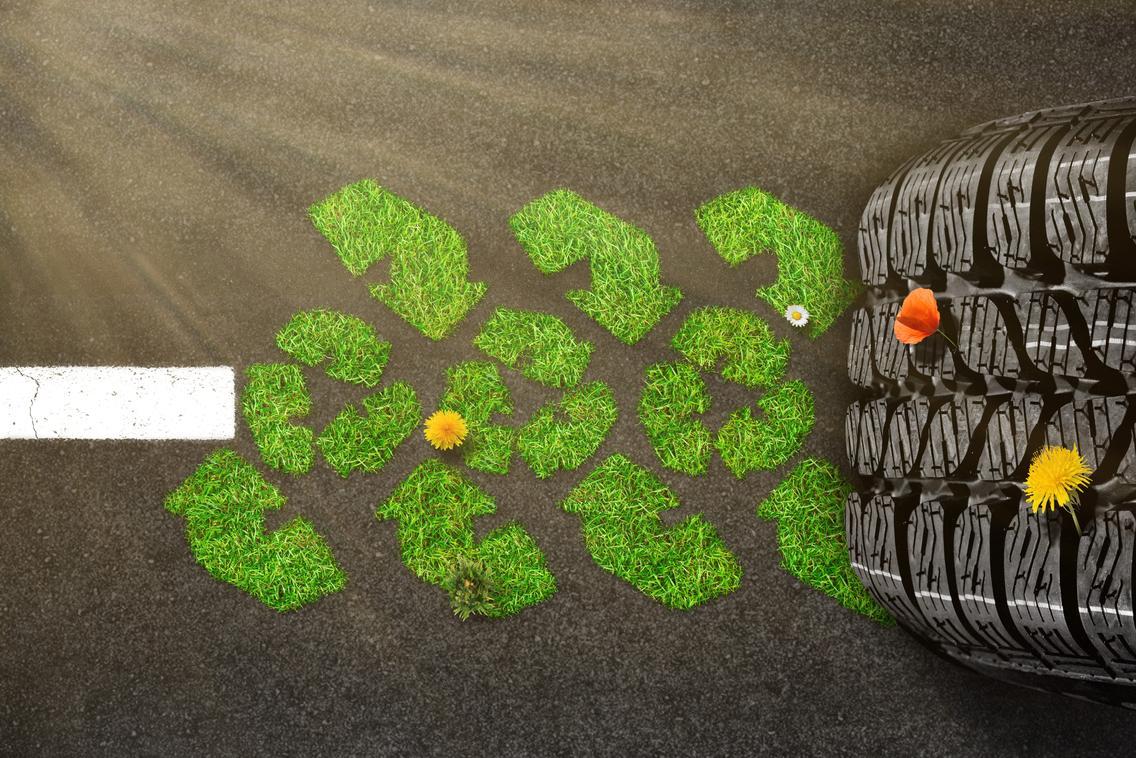 Recycling von Altreifen schont die Umwelt