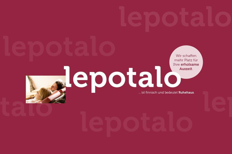 """Das Ruhehaus """"Lepotalo"""""""