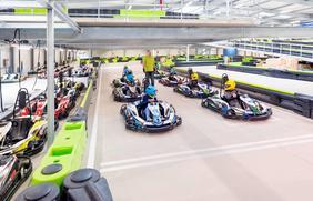 Kart fahren wie ein Profi: Beim Nettedrom-Feriencamp werden kleine Nachwuchs-Rennfahrer ausgebildet.