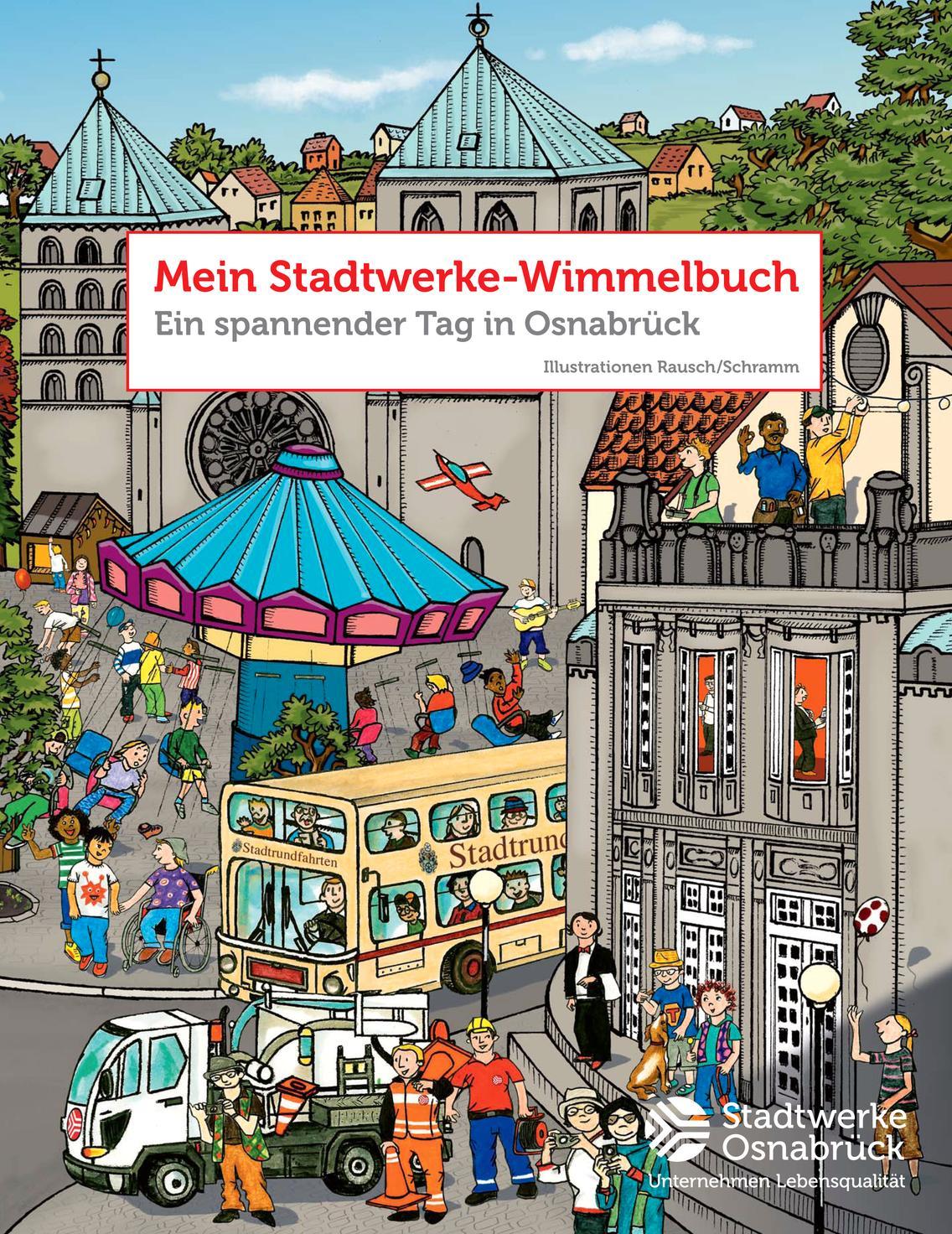 Titel des Stadtwerke Wimmelbuchs
