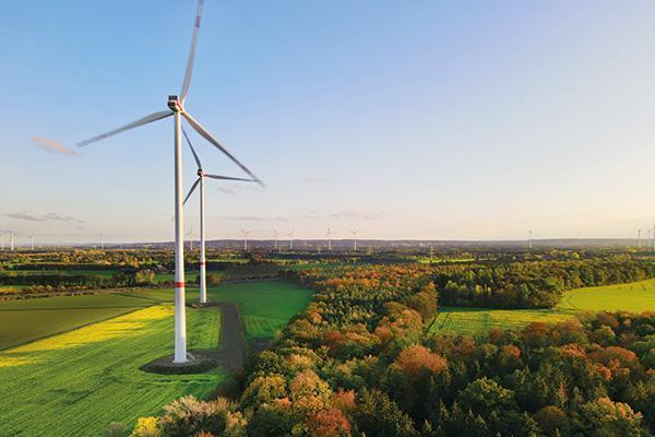 Windpark liefert Ökostrom für die Region