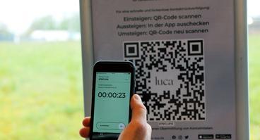 Die Verkehrsgemeinschaft Osnabrück (VOS) ermöglicht die Nutzung der Luca-App in den Bussen.