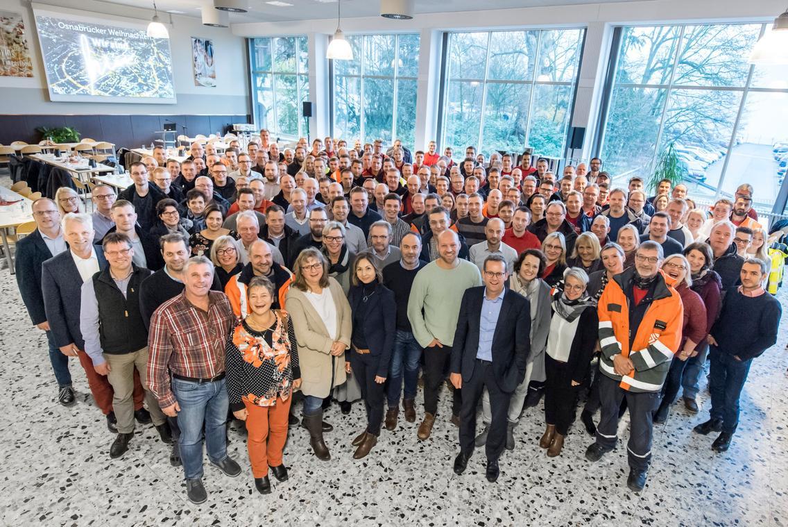 Mitarbeiterinnen und Mitarbeiter der SWO Netz GmbH