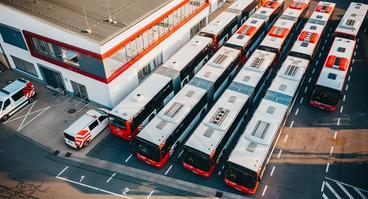 Busbetriebshof des Verkehrsbetriebs der Stadtwerke Osnabrück