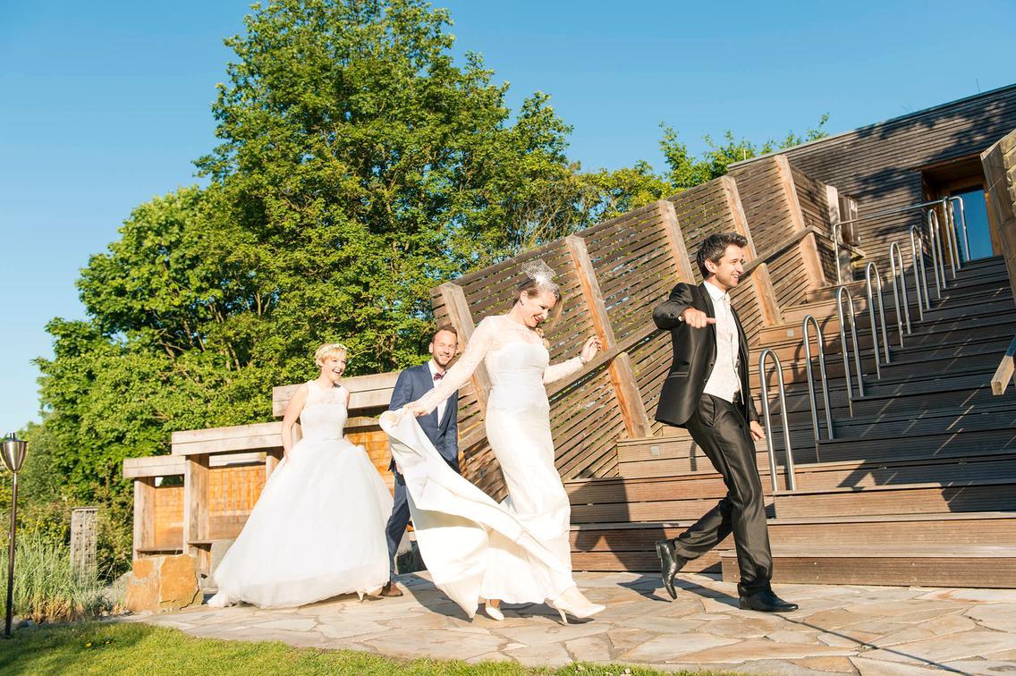 Hochzeitsvorbereitungen im Spa & Beauty und in der Loma-Sauna
